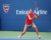 24995749 new york 27 aout vainqueur du grand chelem petra kvitova en match de premier tour a l us open 2013